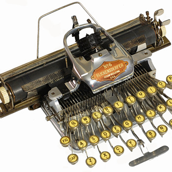 Blickensderfer 6 typewriter - 1906