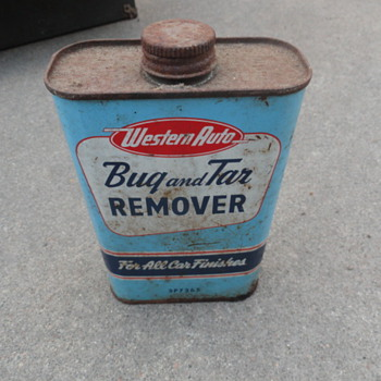 Western Auto 'Bug and Tar Remover' - Petroliana