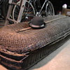 Wicker casket 1800's.