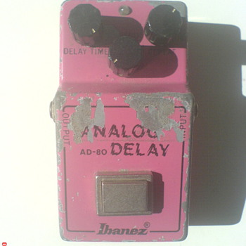 Ibanez AD-80, Analog Delay - Guitars
