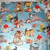 VINTAGE KITTEN CHRISTMAS WRAP