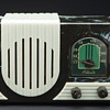 Art Deco Addison Waterfall Grill Plaskon Radio