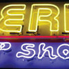 Vintage 1980's AMERICA PEEP SHOW Neon Sign / Single Sided *