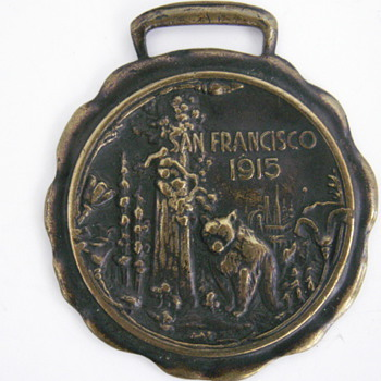 Another 1915 San Francisco Fob - Pocket Watches