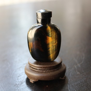 Pietersite Snuff Bottle 2
