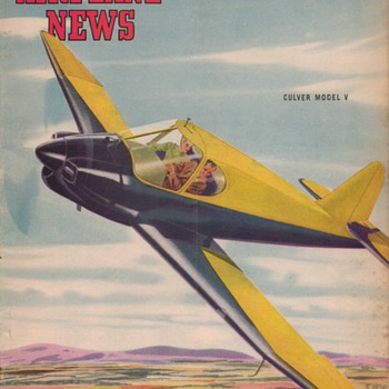 1946 - Model Airplane News magazine - March