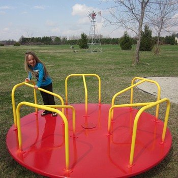 Vintage Playground Equipment
