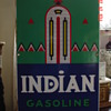 1941 Indian Gasoline Pump Plate Porcelain Sign...Six Colors