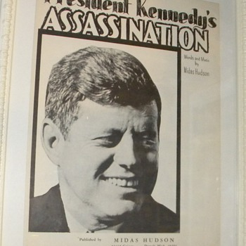 President Kennedy Assassination Sheet Music - Music