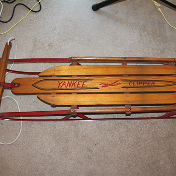1950's ?? No. 13 L Yankee Clipper Sled - Sporting Goods