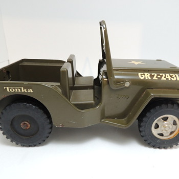 Tonka Jeep - GR 2-2431 - Model Cars