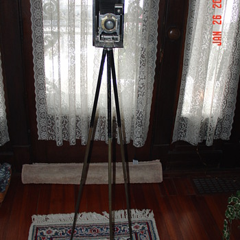  Vintage Kodak Camera With Tripod Attachment