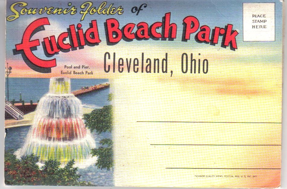 Euclid Beach Park Post Card Pack Collectors Weekly