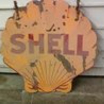 Shell Sign - Signs