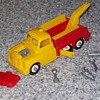 1950's plastic wrecker toy