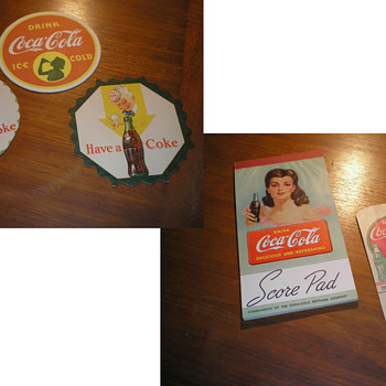 Coca-Cola Misc. Paper Items