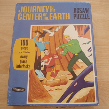 Journey to the Center of the Earth Jigsaw