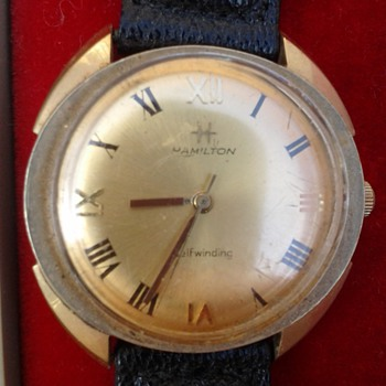old Hamilton watch