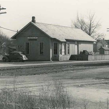 Local railroad depot - Photographs