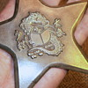 Throwing Star Vintage 1975 brass