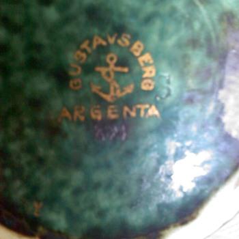 Gustavsberg Argenta - Pottery