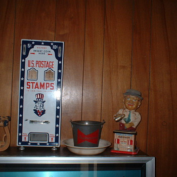 Stamp Machine - Coin Operated