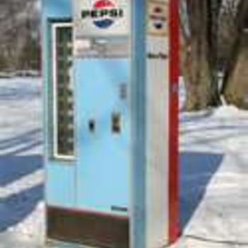 1960 Pepsi Machine