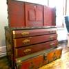 Antique Dresser Theatrical Trunk Kuntzendorf 1901