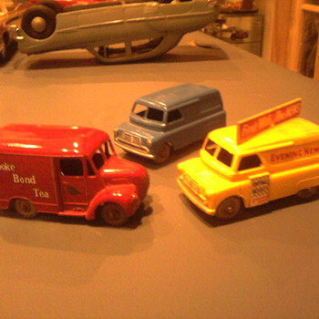 Early Matchbox delivery vehicles not seen in great numbers in the US. - Model Cars