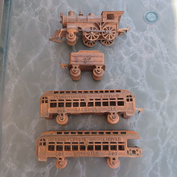 Real or fake? copper train set