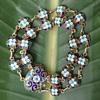Russian Silver Gilt Cloisonne Bracelet