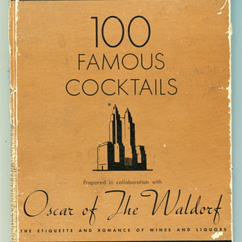 100 Famous Cocktails - Books