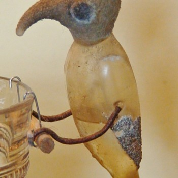 "One Of The Last Surviving Antique ""Drinking Birds?"" ""Tico Bobble Bird?"""