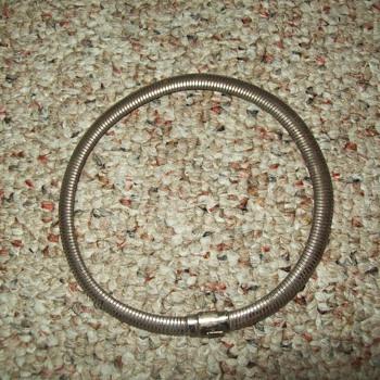 Sterling Omega Necklace/Chocker - Fine Jewelry