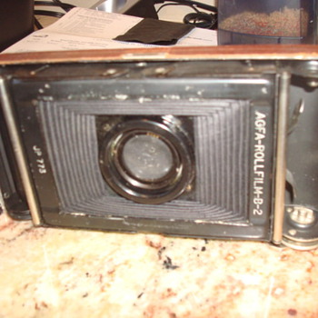Agfa Antique Camera - Cameras