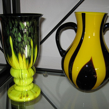 Czechoslovakia Art Deco Glass for Export ca. 1920's 30's - Art Glass