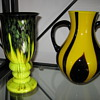 Czechoslovakia Art Deco Glass for Export ca. 1920's 30's