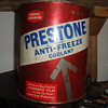 oil  antifreeze   and brake fliud  cans
