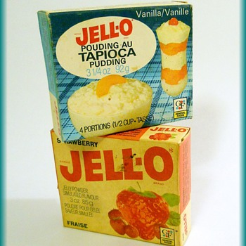 Old Out-dated Vintage ( lol ) ---->  JELLO
