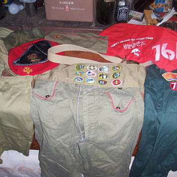 BOY SCOUT  STUFF