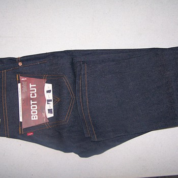 Levi's jeans 515 BOOT CUT with tags are the from the 70's or 80's