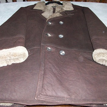 My Favorite Shearling Leather Jacket - Mens Clothing