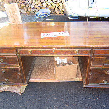 Need Help with Dating Vintage Desk - Furniture