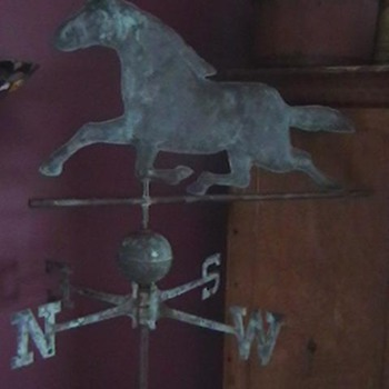 1890's-1910 Ethan Allen Style Horse Weathervane