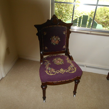 COULD SOMEONE HELP ME INDENTIFY THIS CHAIR - Furniture