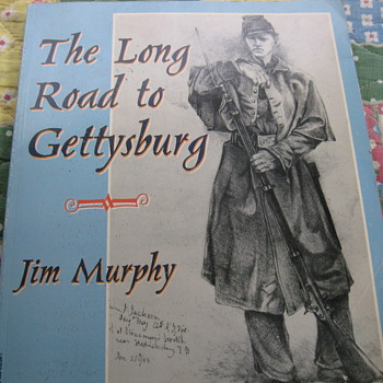 The Long Road To Gettysburg - Books