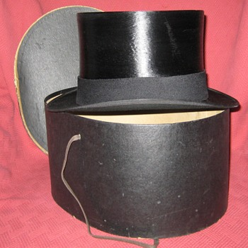 1950's Tress & Co. Silk Top Hat