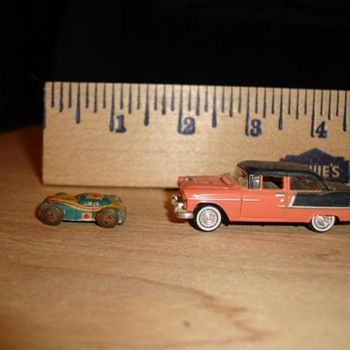 Tiny little Tin car