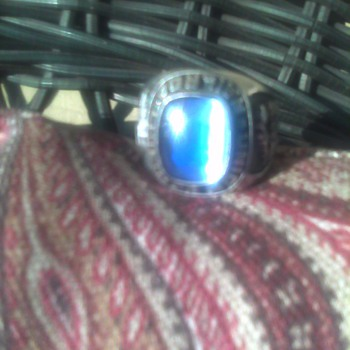 Union Pacific Sterling Silver Ring - Railroadiana