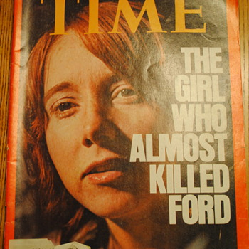 Time Magazine Squeaky Fromme 1975